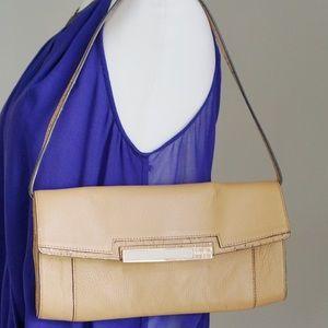 Calvin Klein Tan Leather Purse